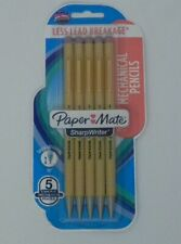 Paper Mate Sharpwriter Mechanical Pencils 07 Mm 2 Hb Yellow 5 Pack