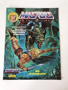 Masters of the Universe Comic MotU Vintage Rar 1988 Nr.7 Ehapa Verlag Top