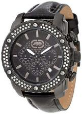 Marc Ecko 45mm The Fortune Leather Watch E17596G1 NEW!!  USA SELLER!!!