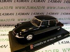 AP60G Voiture 1/43 IXO AUTO PLUS : CITROËN DS 19 Pallas 1965