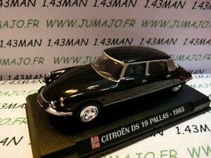 AP60 Voiture 1/43 IXO AUTO PLUS : CITROËN DS 19 Pallas 1965