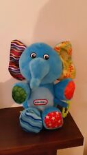 Little Tikes Elephant Soft Toy With Teething Ring Excellent Clean Condition.