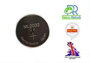 ML2032 3V Rechargeable Lithium Battery - Sega Dreamcast - Logitech K750