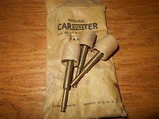 3 NOS Carter Carburetor Pump Plungers 1956 1957 1958 1959 60 Rambler 6,  64-233S