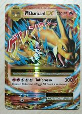 Lotto carte Pokemon MEGA M CHARIZARD EX 13/108 XY EVOLUZIONI EX FULL ART FA