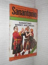SANANTONIO WHISKY AND DROGA inchieste del commissario Sanantonio 102 Mondadori