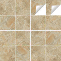 Tile Stickers Transfers Marble Kitchen Bathroom Various Sizes & Custom Size - M2