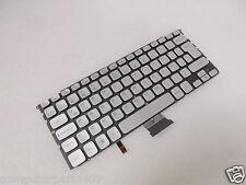 NEW ORIGINAL  Dell XPS/Adamo Silver Latin Spanish Keyboard 0N0G4M N0G4M