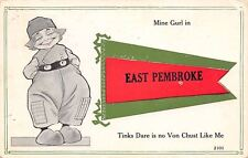 """""""Mine Girl"""" in East Pembroke New York~Thinks There is No One Like Me~1913 PC"""