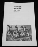 New Holland Twine Knotter Small Square Hay Baler Service Manual 273 278 310 315