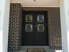 Wrought Iron - Single or Double Front Doors - NOW ON SALE - The Canterbury