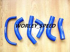 BLUE Silicone Radiator Hose For HONDA XR650 XR650R 2000-2009 00-09