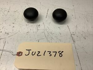 LOT OF 2 VINTAGE BLACK SHIFTER KNOBS - CHEVY / GM / JEEP / FORD