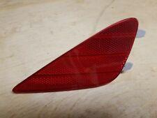 11-15 HYUNDAI SONATA HYBRID REFLECTOR REAR BUMPER LEFT DRIVER 924054R000 LH