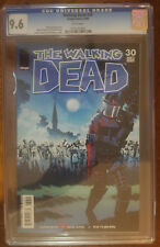 The Walking Dead 30 IMAGE  CGC 9.6 NM+ NEAR MINT WHITE PAGES