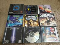 18 computer PC game lot (adventure/action/RPG)