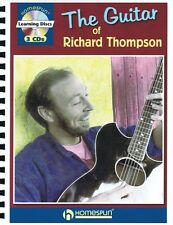 The Guitar of Richard Thompson - Book and CD NEW 000642179