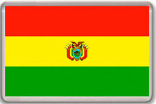 BOLIVIA FLAG FRIDGE MAGNET IMAN NEVERA
