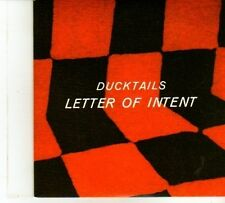 (DP495) Ducktails,  Letter Of Intent - 2013 DJ CD