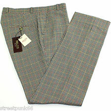 Tweed Multi Colour Sta Prest Vintage Style Mens Trousers Mod All Sizes - Relco 38'' Waist Slim Fit
