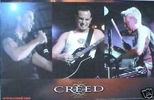 "Creed ""Human Clay"" 2-Sided U.S. Promo Poster Shows Group & Album - Alter Bridge"