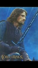 LORD OF THE RINGS - Prismatic Foil Card # 1 Aragorn -Trading Card  - Topps