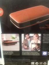 Pioneer Freeme Portable Bluetooth Speaker Wireless Black & Brown Leather Sealed