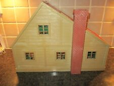 VINTAGE SYLVANIAN FAMILIES EPOCH TOMY DELUXE FAMILY HOUSE 1985.RARE