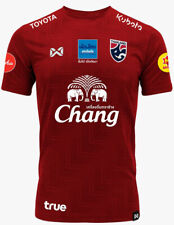 100% Official Thailand National Football Soccer Team Jersey Player Training Red