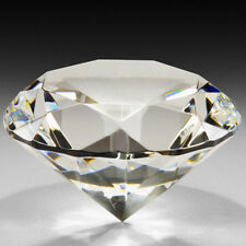 40mm Paperweight Faceted Cut Glass Giant Artificial Diamond Jewelry Decor Well