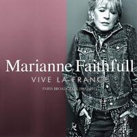 Marianne Faithfull : Vive La France: Paris Broadcasts 1965-2011 CD (2019)
