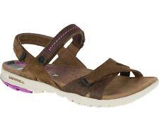 Merrell Albany Wrap Ladies Sandal Uk4 Brown