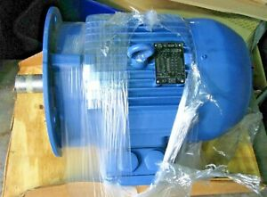 WEG 3-132S-02 Electric Motor 7.5-8.5 kv 220v 460v ip55 1002268036