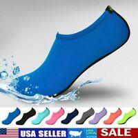 New Adults Kids Water Shoes Aqua Socks Diving Socks Pool Beach Swim Slip On Surf