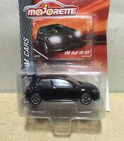Majorette Volkswagen VW Golf VII GTI Black Diecast 1/64 264C Free Shipping