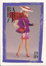 Barbie Fashion Collectable Card - Card No. 260: 1989 - Paris Pretty Fashions
