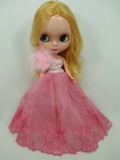 Big Head Blythe Clone 4 Color Changing Eyes Basaak Doll - yellow hair