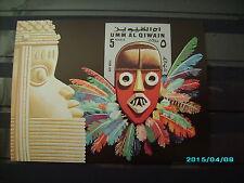 schöner Block mit einer schönen Maske postfrisch