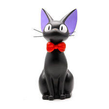 Kiki's Delivery Service Jiji Black Cat Piggy Bank Figure Halloween/Xmas Gift 10""