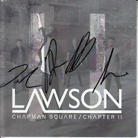 LAWSON Chapman Square / Chapter II SIGNED / AUTOGRAPHED 2-CD + CoA