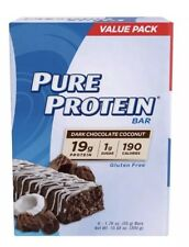 Pure Protein Dark Chocolate Coconut Protein Bars, 1.76 oz, 6 count