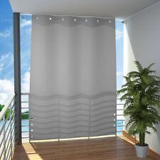 Seitlicher Balkonsichtschutz Balkon Paravent Sichtschutz Trennwand Markise Grau