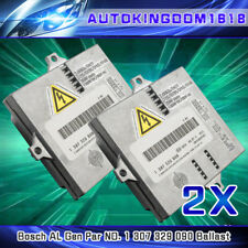 Pair Xenon Headlight Ballast Control Unit Module ECU for VW Jetta Golf GTi GEN5