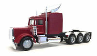 Peterbilt Triple Drive Cab Red TRUCK PROMOTEX HERPA 1/87 Truck HO Scale 6374R