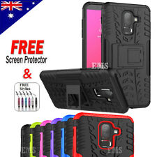 Shockproof Tough Heavy Duty Strong Stand Case Cove For Samsung Galaxy J8 2018