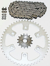 1996-2004 HONDA XR400R 400 R O RING CHAIN AND SPROCKET 15/48 114L