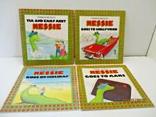 Nessie by Francis Mosley, Dragon Grafton Books, Lot of 4