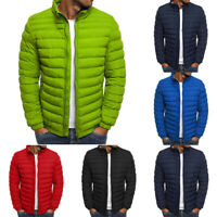Jacket Coat Quilted Outwear Ski Light Packable Bubble Mens Puffer Down Padded