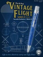 Retro 51 Vintage Flight II Rollerball Pen. ZRR-2018 Sealed and #'d