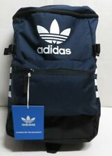 ADIDAS CLASSIC ZIP TOP BACKPACK CK3060  Navy - Black - White Nwts